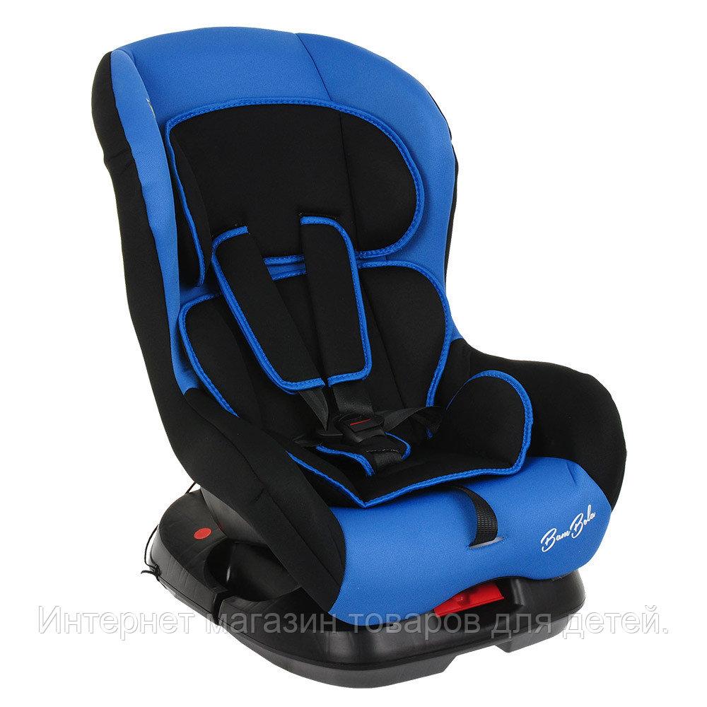 BAMBOLA Удерживающее устройство для детей 0-18 кг BAMBINO Черный/Синий 2шт/кор