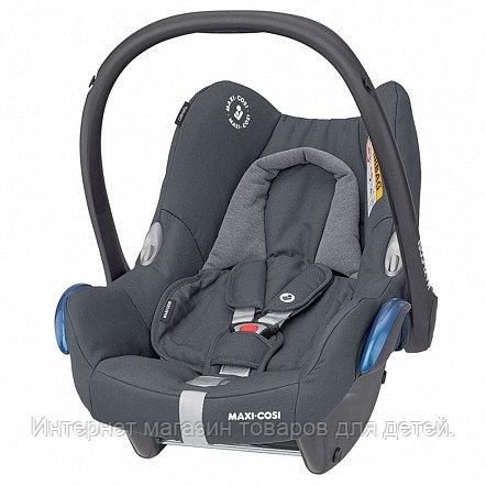 Maxi-Cosi Удерживающее устройство для детей 0-13 кг CabrioFix ESSENTIAL GRAPHITE серый  2шт/кор
