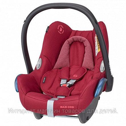 Maxi-Cosi Удерживающее устройство для детей 0-13 кг CabrioFix ESSENTIAL RED красный  2шт/кор