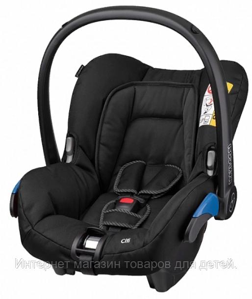 MAXI-COSI Удерживающее устройство для детей 0-13 MC CITI BLACKRAVEN черный ворон