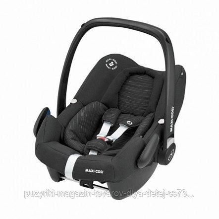 Maxi-Cosi Удерживающее устройство для детей 0-13 кг Rock Scribble Black черный 2шт/кор