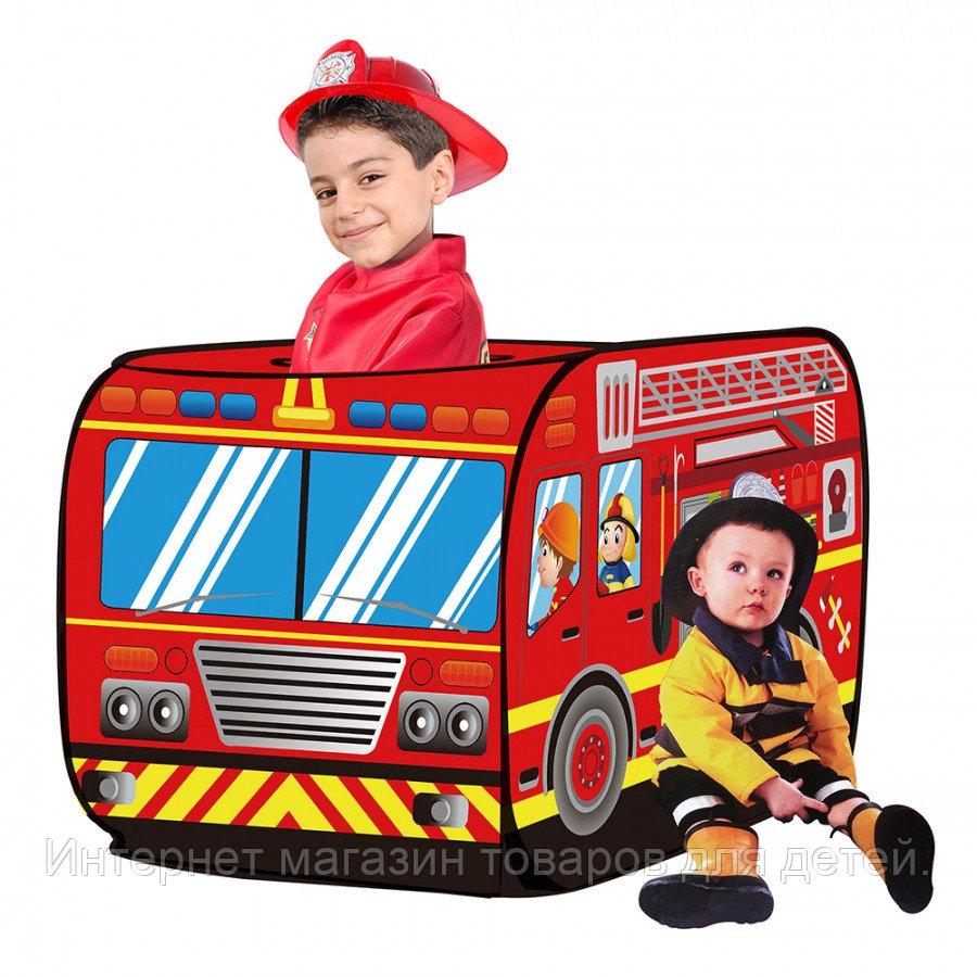 PITUSO Дом + 50 шаров Пожарный фургон,110*70*70см,18 шт.в кор.
