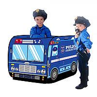 PITUSO Дом + 50 шаров Полицейский фургон,110*70*70см,18 шт.в кор.