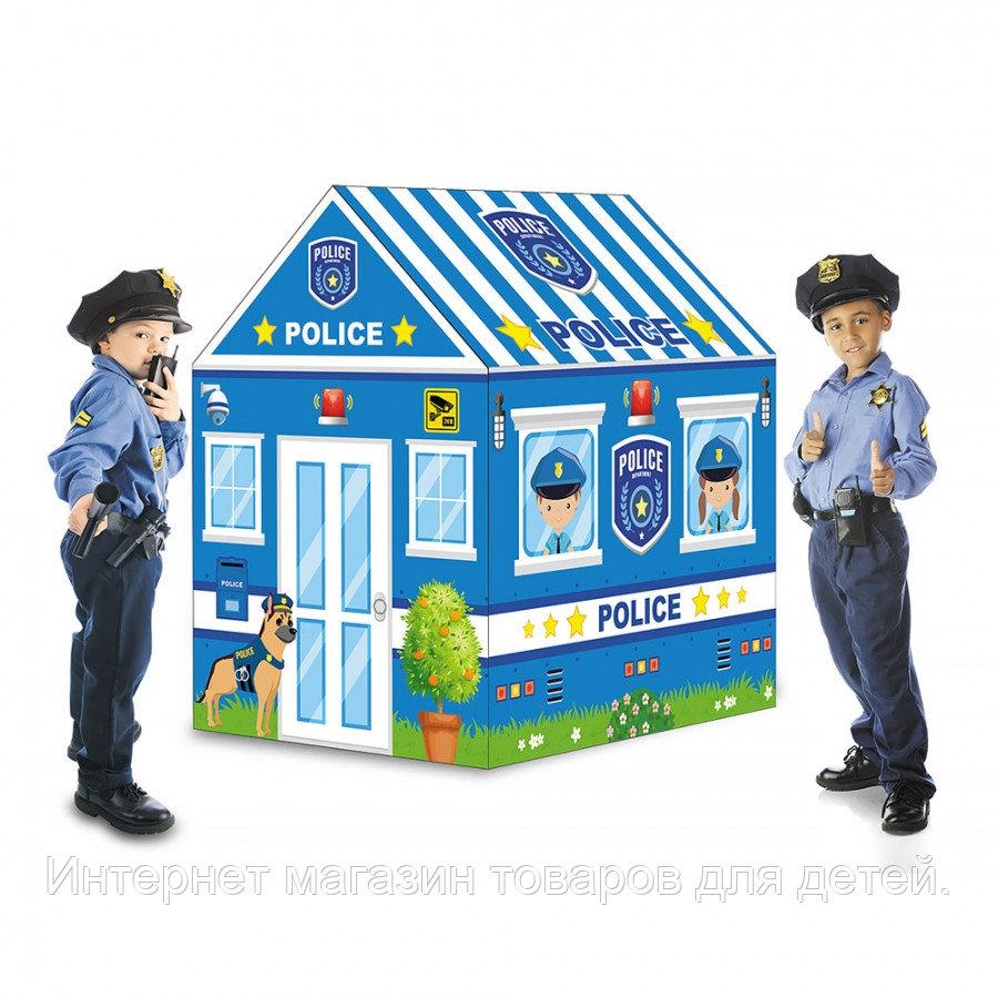 PITUSO Дом + 50 шаров Полиция,93*69*103см (ПВХ каркас), 12 шт.в кор.