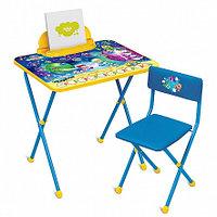 НИКА Набор мебели КОСМОС Математика (стол + мяг стул) h580
