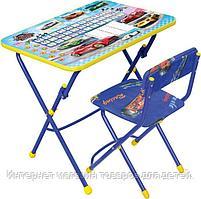 **НИКА Набор мебели БОЛЬШИЕ ГОНКИ (стол-парта +мяг стул) h580
