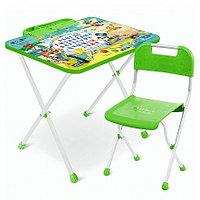 **НИКА Набор мебели МИККИ МАУС (стол складн.+пенал,стул)