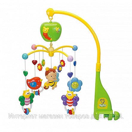 PITUSO Музыкальный мобиль Пчёлка (батар. 2*АА), звук (в кор.12 шт.)