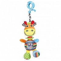 BIBA TOYS Игрушка-подвеска на прищепке Жираф Джиджи, 36*14 см (в кор.24шт.)