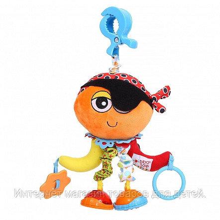 BIBA TOYS Мягкая игрушка-подвеска на прищепке Пират Джэк, длина 30 см (в кор.24 шт.)