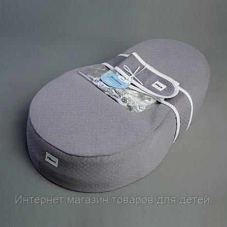 PITUSO Кокон-матрасик (капитоний) 69*41*18 см Серый