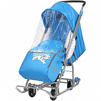 НИКА Санки коляска DISNEY BABY1 Далматинец голубой, фото 1