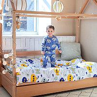 PITUSO Постельное белье 3 пр. со спальным местом 160*80 и 160*70 Подводные лодки