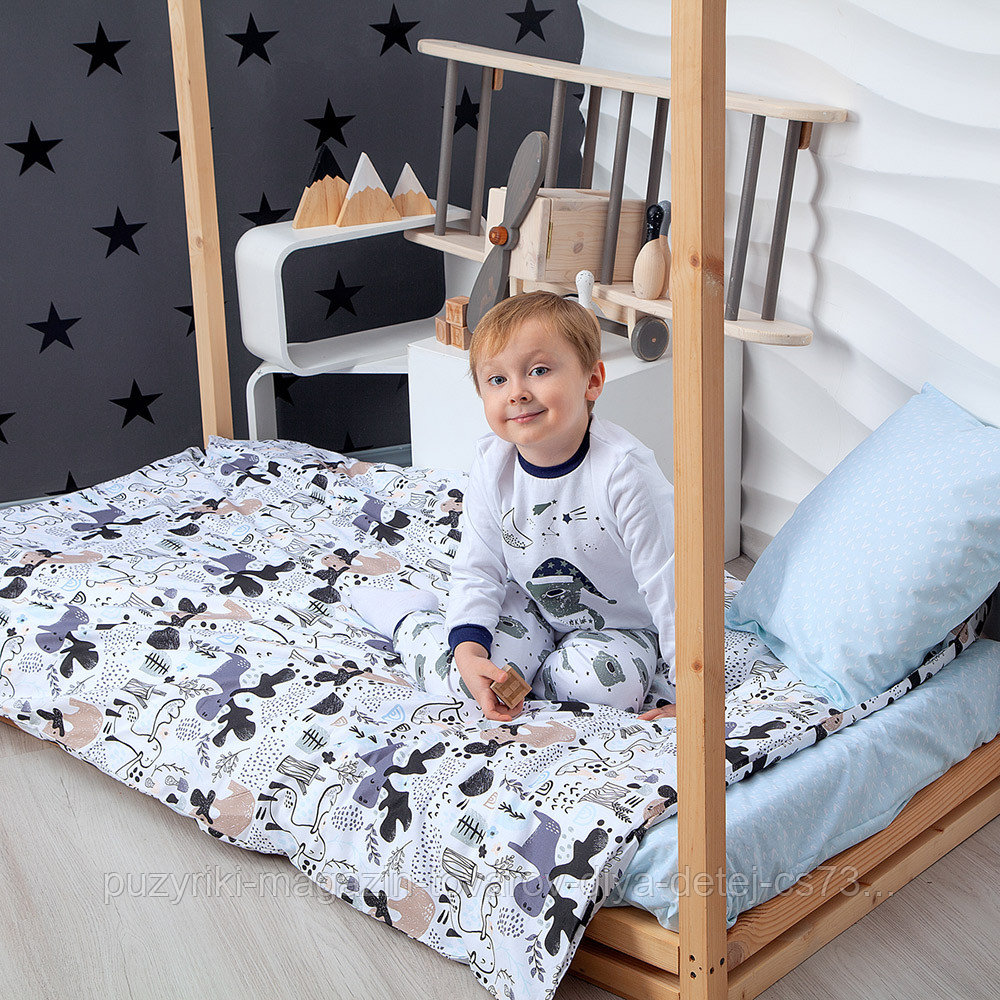PITUSO Постельное белье 4 пр. со спальным местом 160*80 и 160*70 Исландия