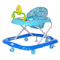 BAMBOLA Ходунки ЦЫПА (6 пласт.колес,игрушки,муз) 7 шт в кор.(66*53*52) BLUE Голубой, фото 1