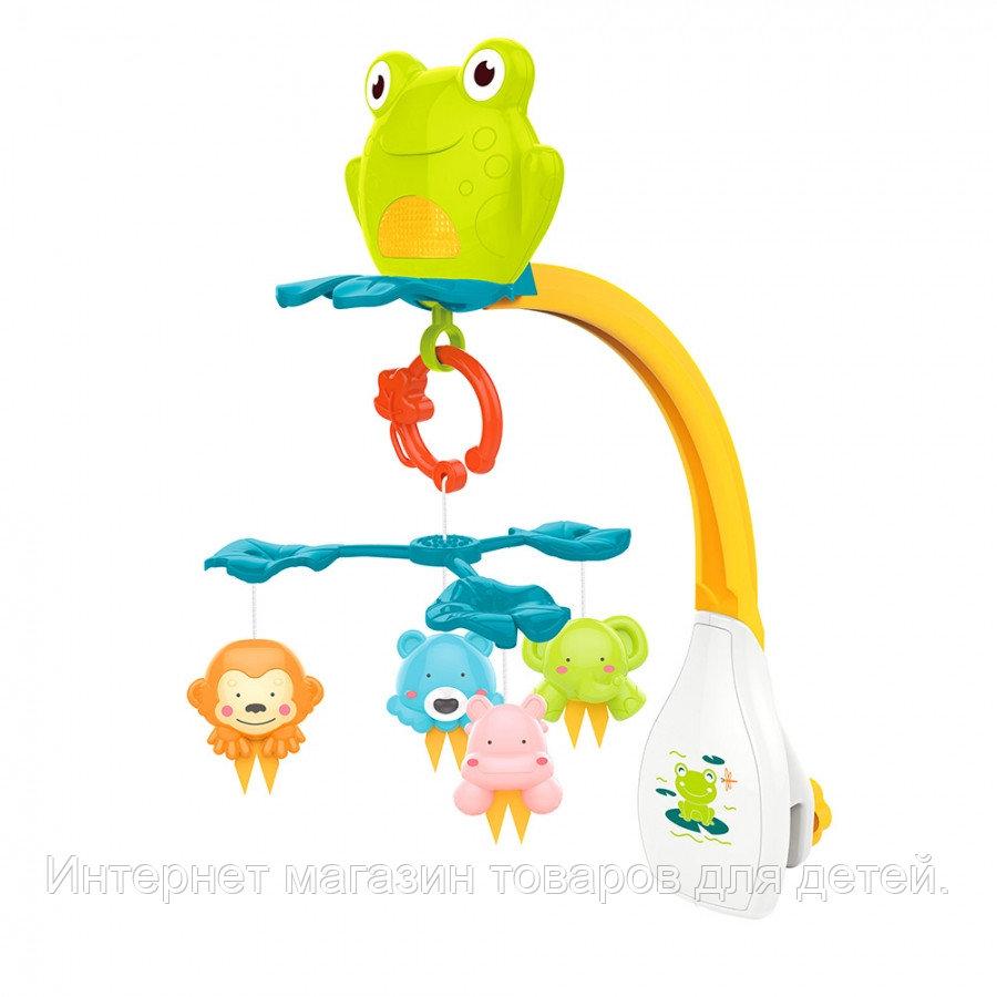 HAUNGER Музыкальный мобиль Лягушонок, на батарейках, пласт. игрушки (6 шт.в кор.)