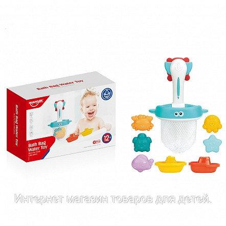 HAUNGER Набор игрушек для ванной КАПИТАН 7 шт. (в кор.36 шт)