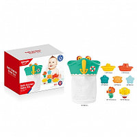 HAUNGER Набор игрушек для ванной ЯКОРЬ 7 шт. (в кор.12 шт)