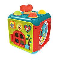 HAUNGER Игрушка развивающая Занятный куб (свет,звук) 21,5*21,5*21,5 см (в кор.12 шт.), фото 1