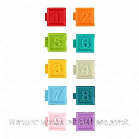 HAUNGER Набор кубиков 10 шт. Цифры (в кор.12 шт)