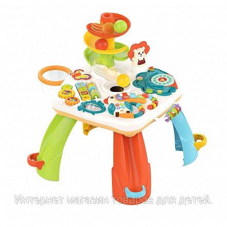 HAUNGER Развивающий столик Занимательный лев (свет,звук) 46*46*51 см (в кор.6 шт)