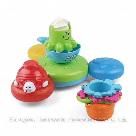 PITUSO Набор игрушек для ванной ПРАЗДНИК НА ВОДЕ (в кор.12 шт)