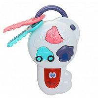 PITUSO Развивающая игрушка ВОЛШЕБНЫЙ КЛЮЧ (белый) (свет,звук) 20*9*4 см (в кор.108 шт)