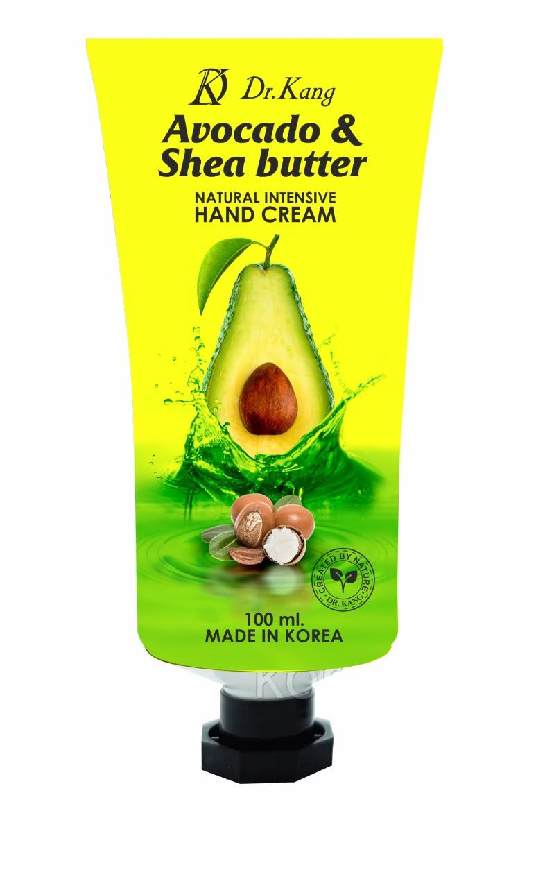 DR KANG Увлажняющий Крем для рук с Авокадо и Масло Ши Avocado & Shea Butter Natural Intensive Hand Cream 100мл