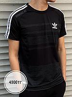 Футболка Adidas чер 04-6626