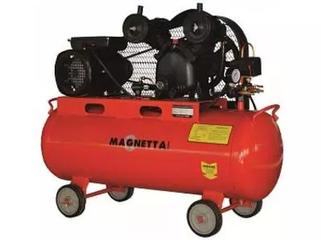 Компрессор воздушный поршневой масляный с ременным приводом MAGNETTA