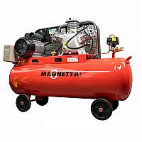 Компрессор воздушный поршневой масляный с ременным приводом Magnetta, SV0.36/10