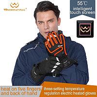 Теплые перчатки с подогревом на батарейках АА, М-размер