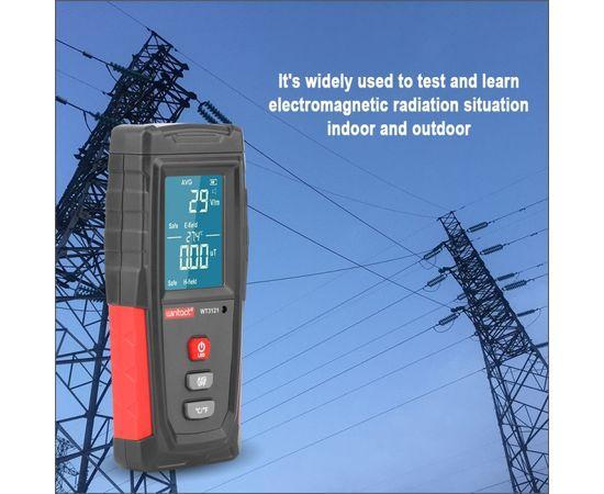 Детектор(Индикатор) электромагнитного поля и излучения WINTACT WT3121 ( 1-1999 Вм, 0.01μT-99.99μT )
