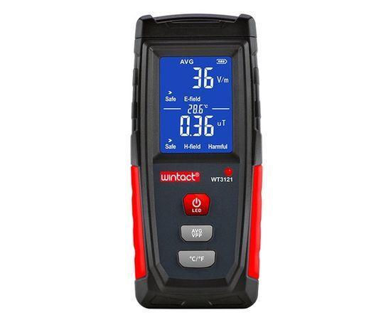 Дозиметр - детектор уровня электромагнитного поля и излучения WINTACT WT3121 ( 1-1999 Вм, 0.01μT-99.99μT )