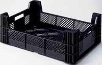 Коробка RINGOPLAST для овощей и фруктов 600x400x210, черная