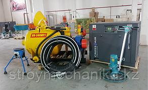 Комплект оборудования для полусухой стяжки пола ( 500 л., 6 м3/мин )