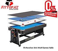 Игровой стол 3в1 7-футовый Revolver 3in1 Multi Games Table