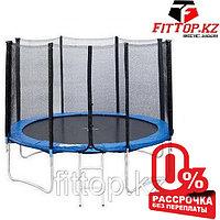 Батут 10FT 3,05м с защитной сеткой и лестницей  JWC-010-10