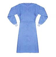 Халат хирургический, 120 см, рукава на резинке