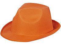 Шляпа Trilby, оранжевый