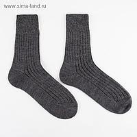 Носки мужские шерстяные 14С2431 цвет тёмно-серый, р-р 27