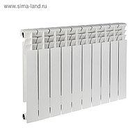 Радиатор биметаллический REMSAN Master, 500х80, 10 секций