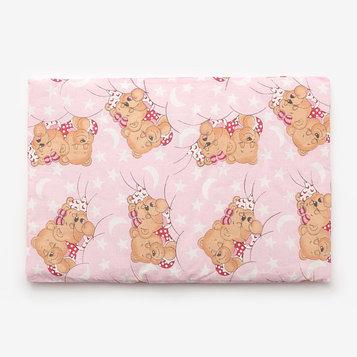 Подушка, размер 40*60 см, цвет розовый, набивка МИКС 224