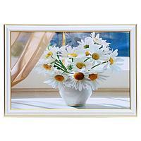 Картина 'Ромашки у окна' 20х30(23х33) см