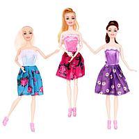 Кукла-модель «Арина» шарнирная, в платье, МИКС