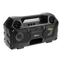 Портативная колонка Ritmix SP-690B, 36 Вт, Bluetooth, AUX, microSD, FM, 2000 мАч, чёрная