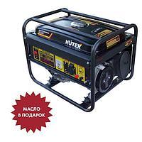Генератор бензиновый Huter DY4000L, 4Т, 7 л.с., 3.2 кВт, выходы 220 В, 15 л + МАСЛО