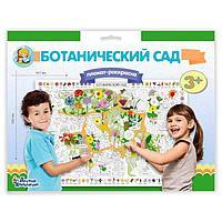 Плакат-раскраска 'Ботанический сад'