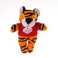 Мягкая игрушка-магнит 'Тигр в футболке'