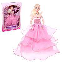 Кукла-модель «Невеста» шарнирная в пышном платье